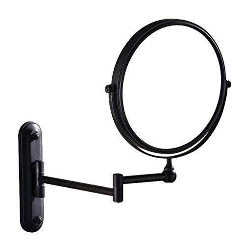 Gurun Two Sided Swivel Wall Mounted Makeup Mirror With 5x Https
