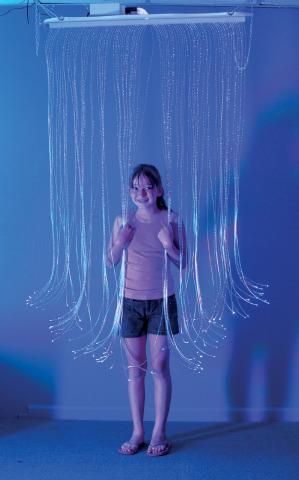 Fiber Optic Curtain In 2020 Fiber Optic Lighting Fiber Optic Sensory Lights