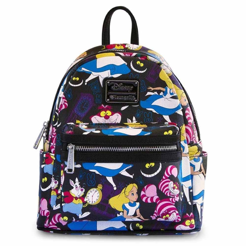 3c2cc8ee8d9 Loungefly X Disney Villains Print Mini Faux Leather Backpack- Fenix ...