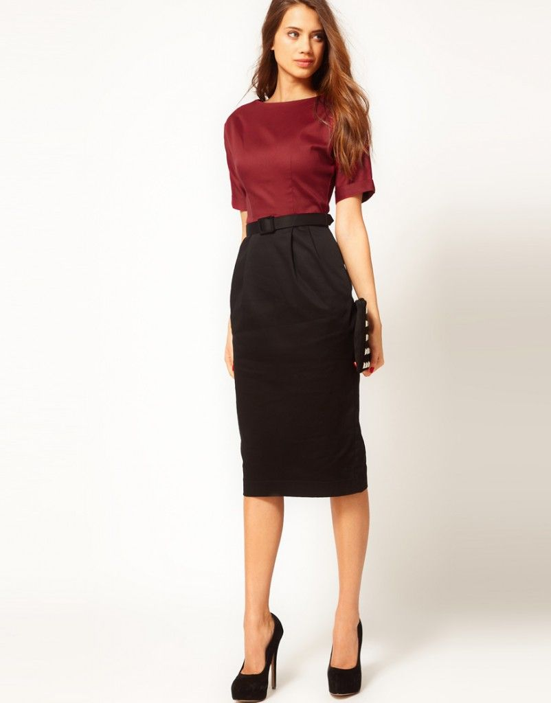Love, love long pencil skirts. This is soooooo me!!!! | Fashion ...