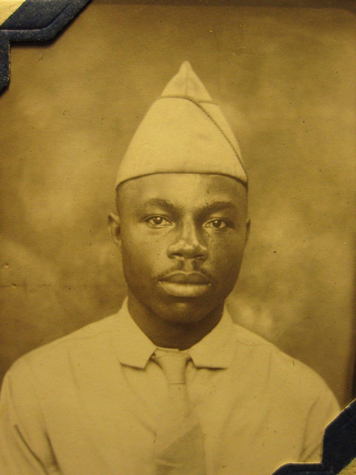 American WW2 Era Photobooth Army Man