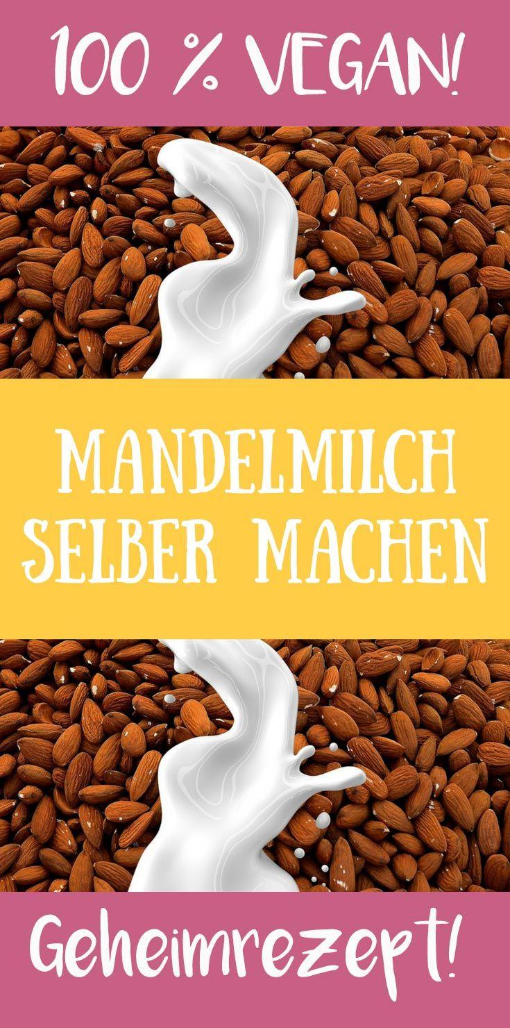 Mandelmilch selber machen - Schnell, einfach & super lecker I EcoYou® #frischkäseselbermachen