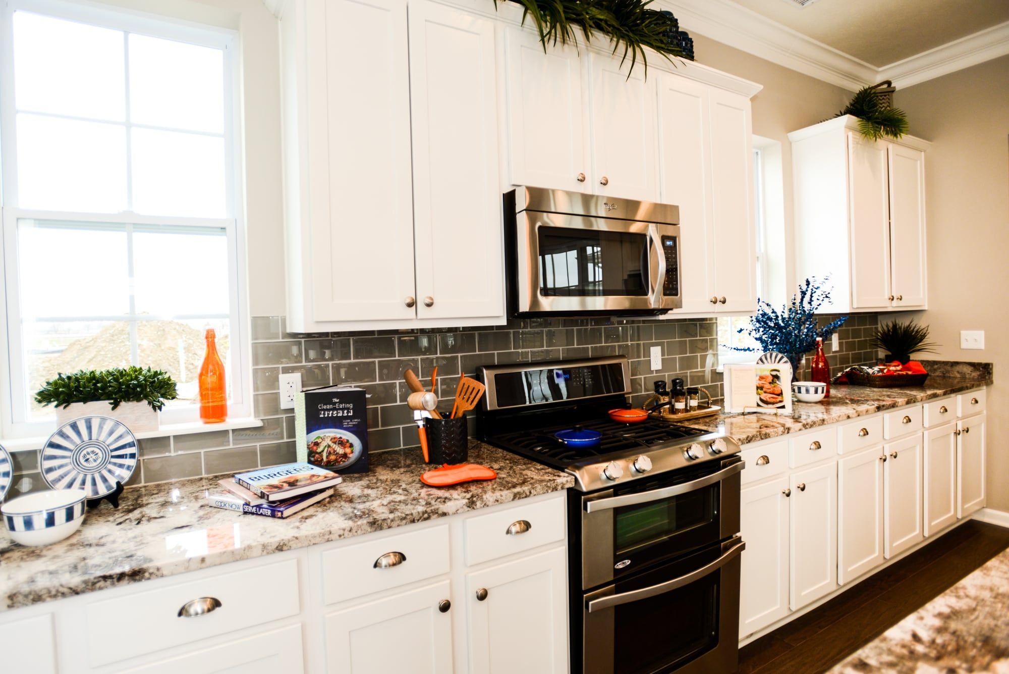 Kuche Arbeitsplatte Reiniger Kuchen Kitchen Clutter Und Clutter