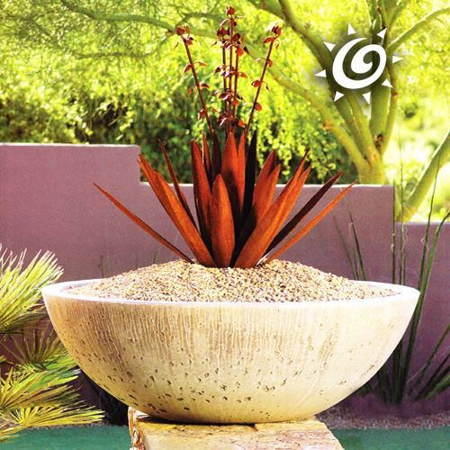 Our Wok Shaped Garden Planter Is Our Best Seller With It S Simple Design And Deep Capacity It Is Perfect For Most P Garden Planters Flower Pot Design Planters