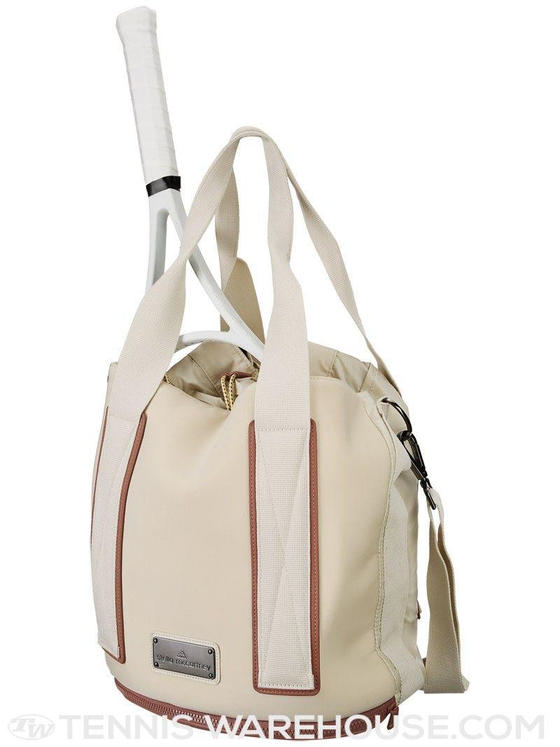Adidas Women S Stella Mccartney Tennis Bag White Vapor Cute