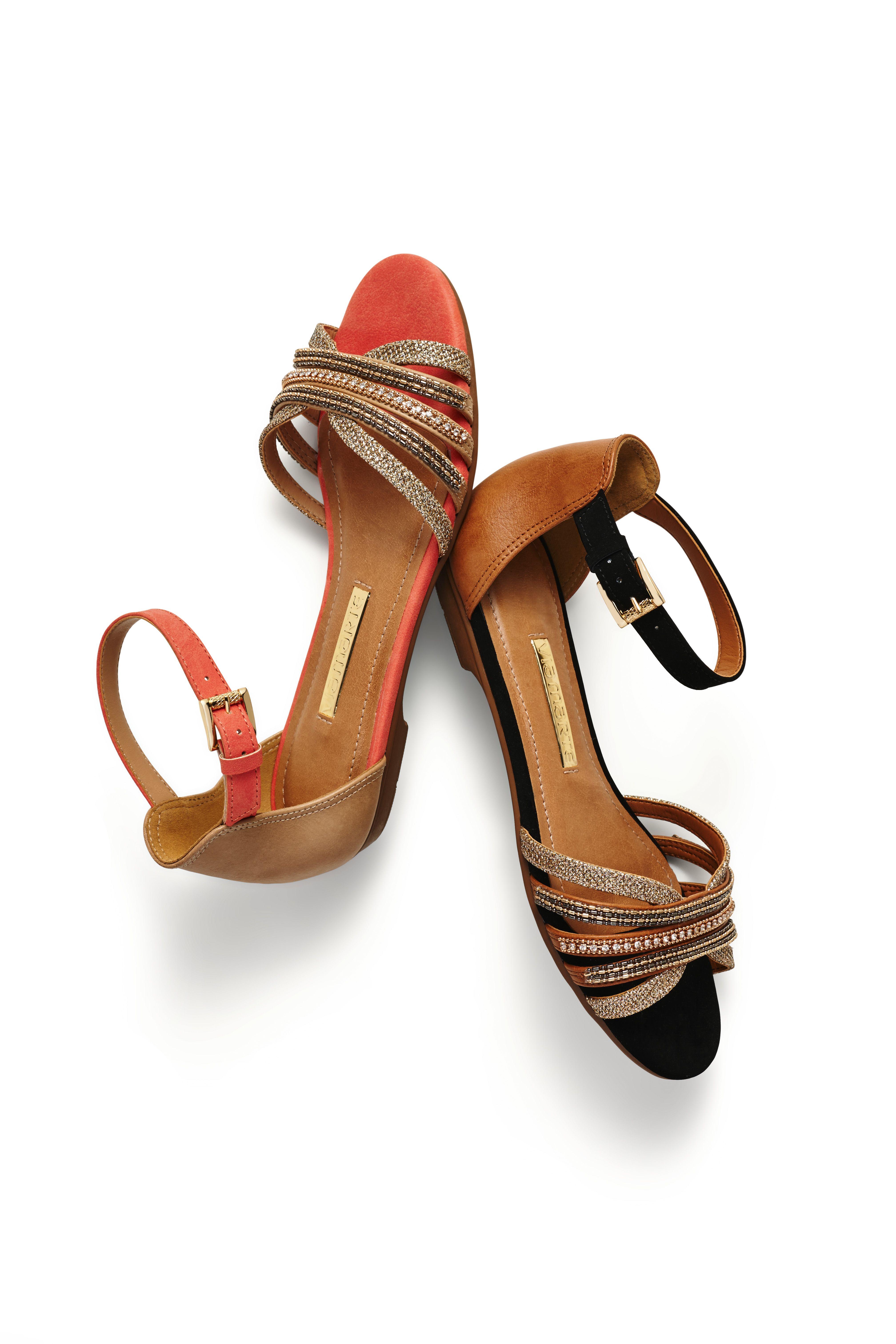607e8754f sandália rasteira - colors - cores - preto - brilho - sapatilha aberta -  Ref. 15-12206