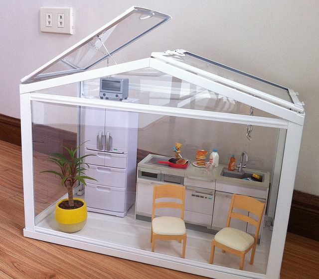 greenhouse not glass house cute stuff pinterest miniatur rund ums haus und runde. Black Bedroom Furniture Sets. Home Design Ideas