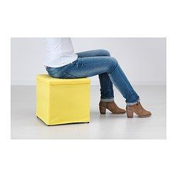 bosn s repose pieds av rangement ransta jaune salon jaune pinterest salons jaunes repose. Black Bedroom Furniture Sets. Home Design Ideas