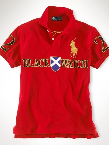 b53e7857c Red Custom-Fit Black Watch Polo - Polo Ralph Lauren Custom-Fit.. Love this  polo.. Only in red..size xl