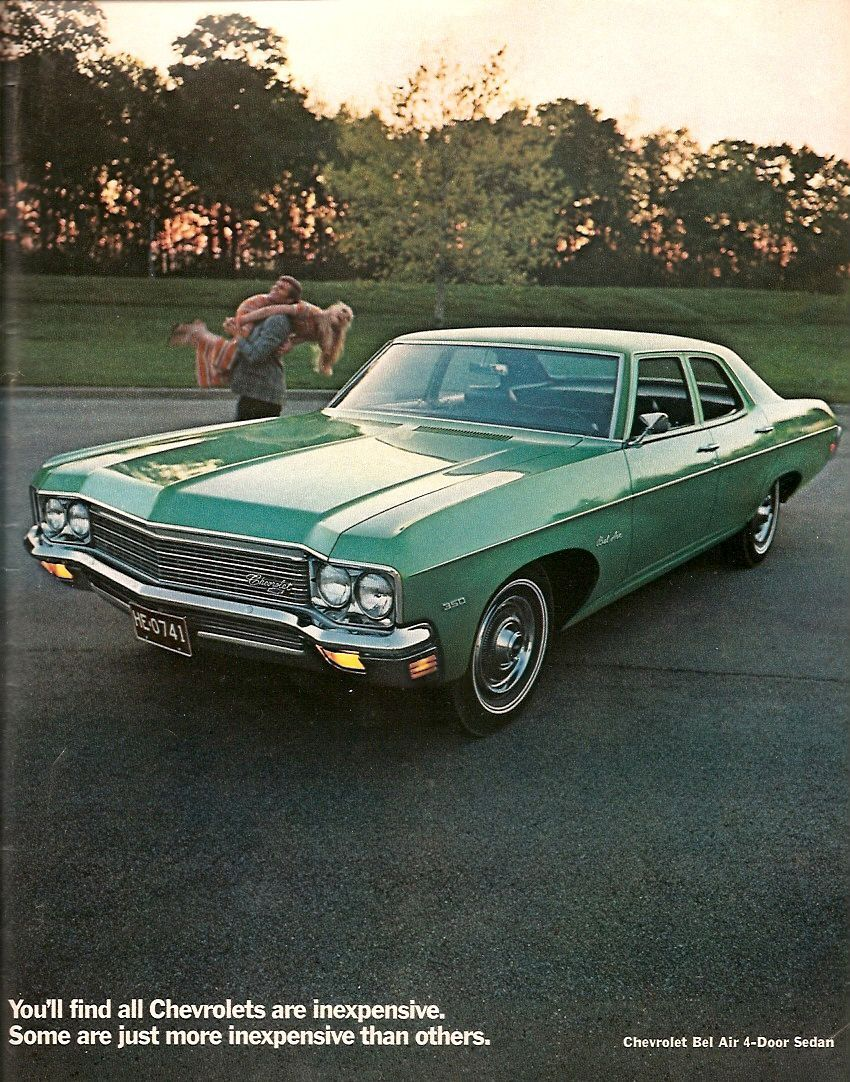 1970 Chevrolet Bel Air 4-Door Sedan