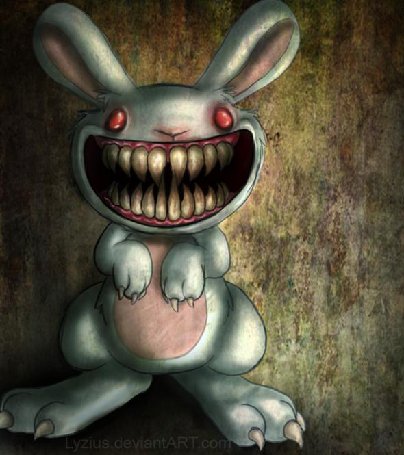9 Designs That Turned Cute Things Evil Like Little Bunny Foo Foo By
