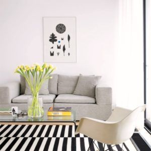 Awesome Black And White Rugs Ikea Striped Rug