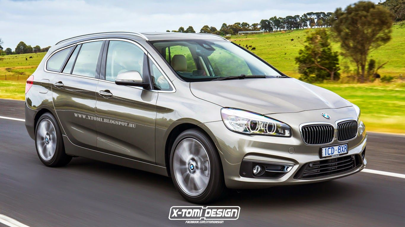 Bmw 2 Series Gran Tourer Rendering Bmw 2 Bmw Series Bmw
