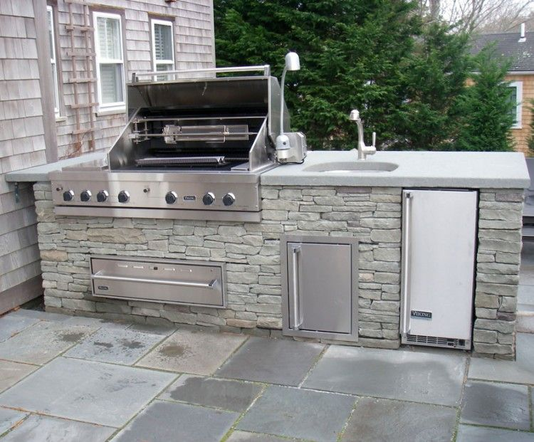 Outdoor Kitchen Island With Sink Video And Photos