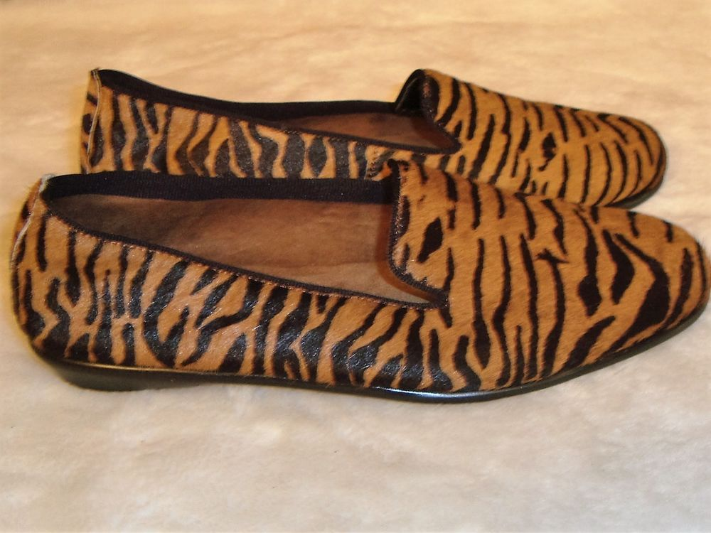 50079e9d5386 New Aerosoles Stitch N Turn Sz 8.5M Betunia Brown Pony Hair Zebra Print  Loafers #Aerosoles #LoafersMoccasins