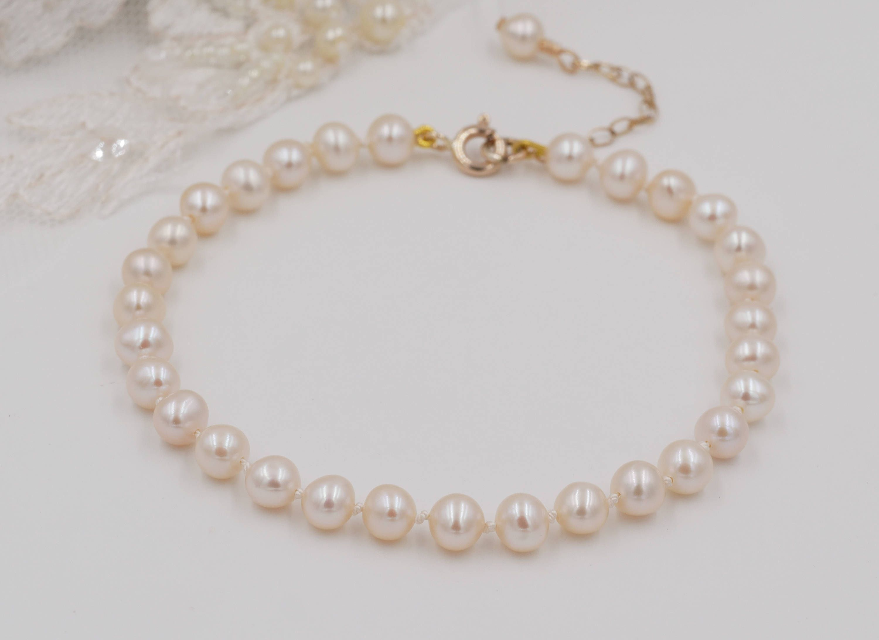 papaya by bracelet cultured jewellery shop bracelets pink freshwater mm pearl necklace honey