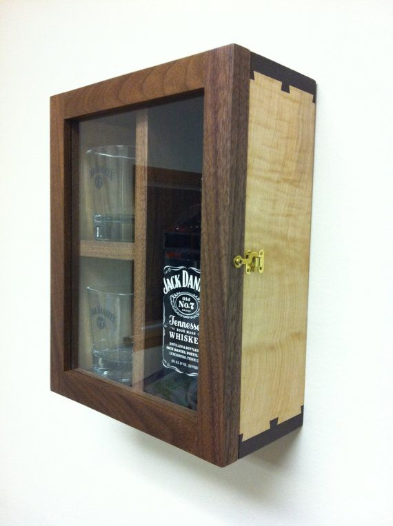 jack daniels whiskey gift box case wood liquor cabinet wedding best man gift groomsmen gift wall. Black Bedroom Furniture Sets. Home Design Ideas