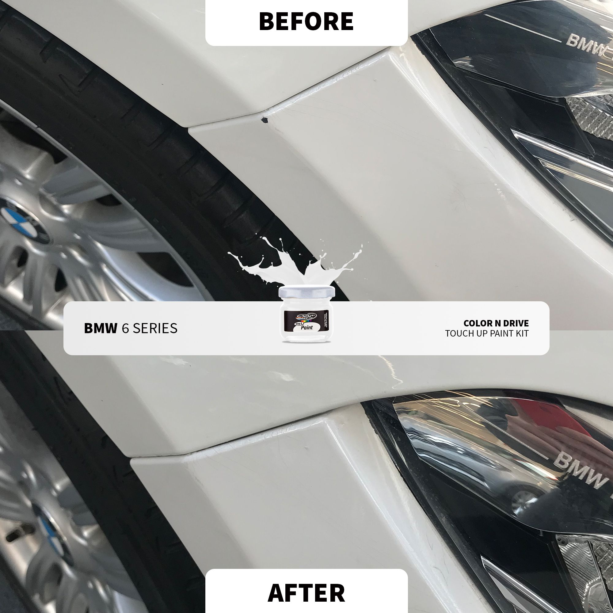 Bmw Before After Touch Up Paint Paint Repair Bmw