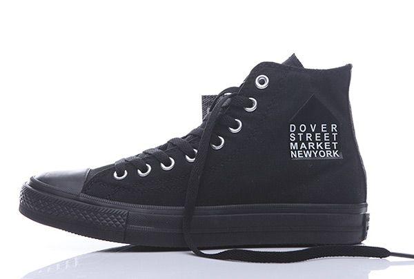 6e15ace64682 All Black Converse Dover Street Market New York Chuck Taylor 1970s High Tops   converse  shoes