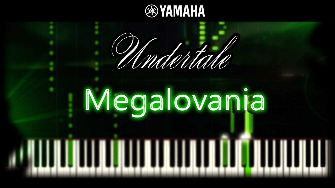 Undertale - Megalovania (Piano cover, tutorial, Sheet Music