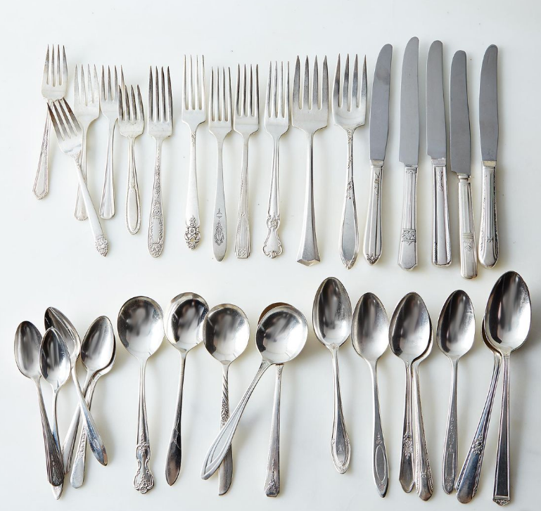 Vintage Silver-Plated Eclectic Flatware (Food52 Shop)