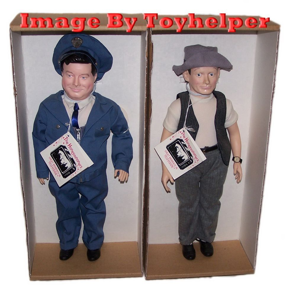 "Honeymooners Jackie Gleason & Art Carney 16"" Dolls NIB TV's Most Famous Comedy   #EffanbeeDollCompany #DollsHoneymoonersJackieGleasonArtCarney"