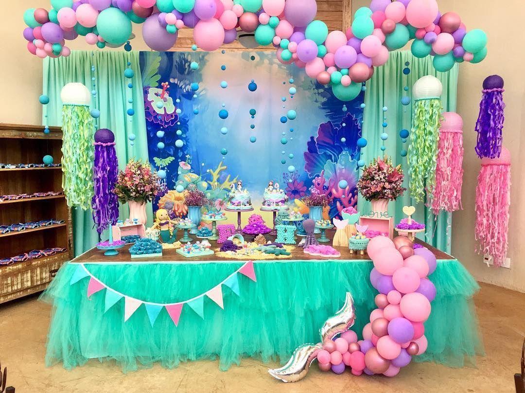 Pin Em Little Mermaid Party