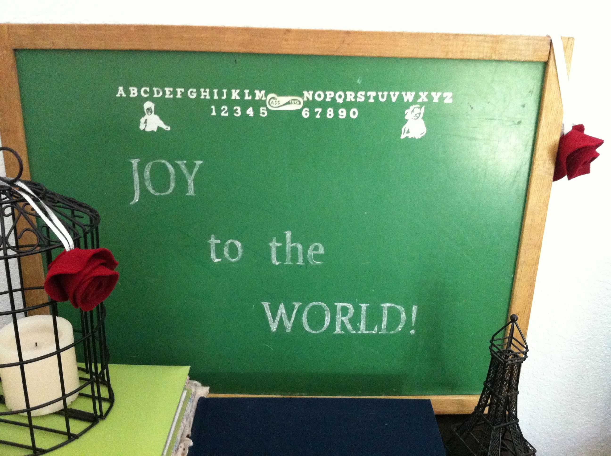 Christmas chalkboard craft by aileen bell printed message on 3c8796a4d0e4617a5eb6321d37176012g jeuxipadfo Image collections