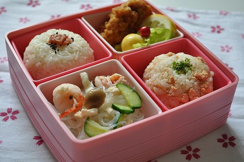 Japanese Fried Chicken Bento | Bento | Pinterest | Noodle salads ...