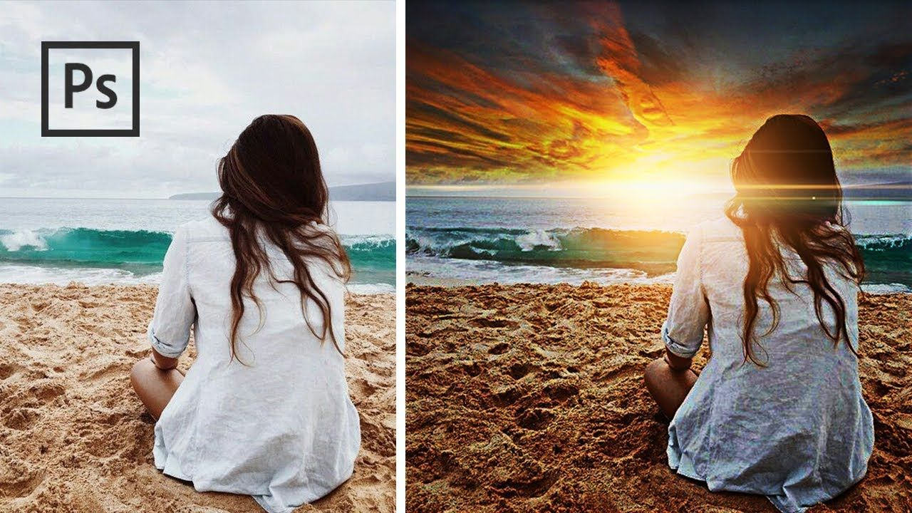 Cara Mengedit Foto agar lebih Berwarna - Sunset Dramatic ...