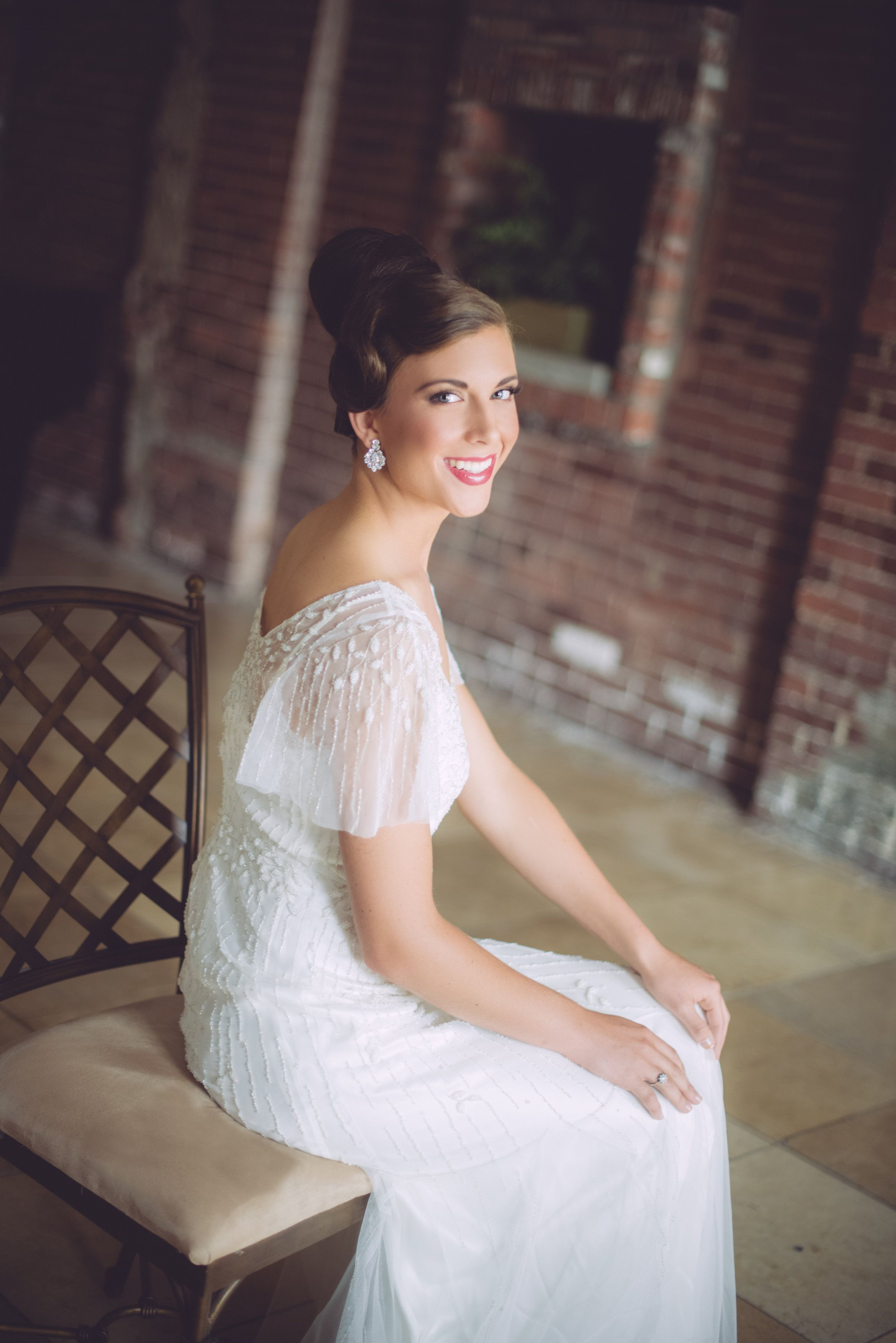 hair by: executive bridal director courtney and bridal team members