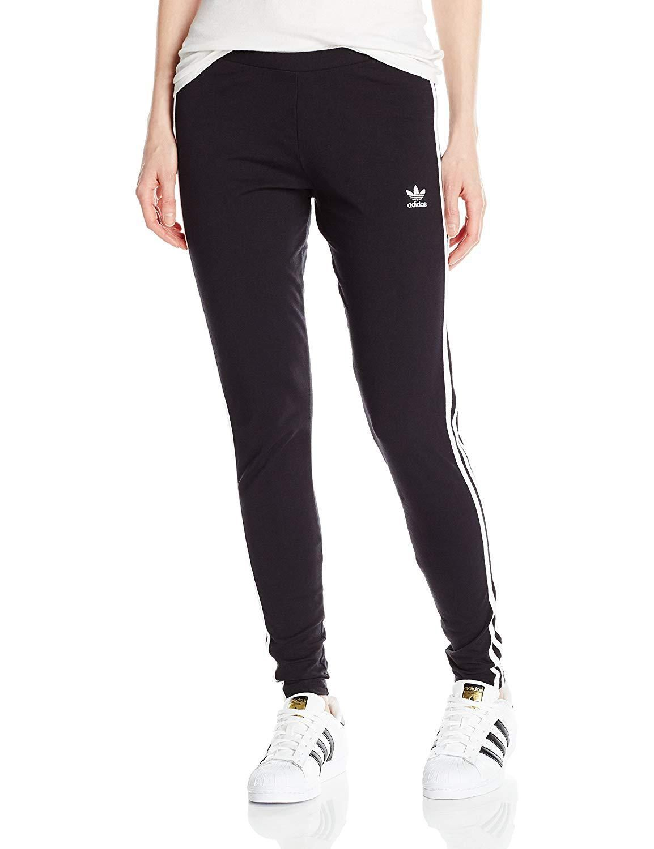 0288450dc13f1 adidas Originals Womens 3Stripes Leggings at Amazon Womens Clothing ...