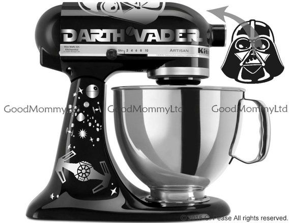 , Vader/Skywalker Decal Kit for your KitchenAid Stand Mixer – Star Wars Inspired, My Pop Star Kda Blog, My Pop Star Kda Blog