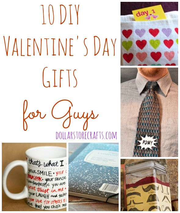 10 Diy Valentine S Day Gifts For Guys Valentines Presents For
