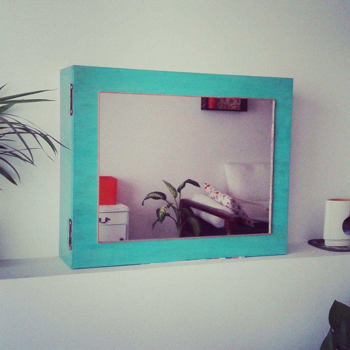 Mueble Organizador De Bijou Con Espejo Arte Chulo 1 250 00  # Muebles Para Bijou