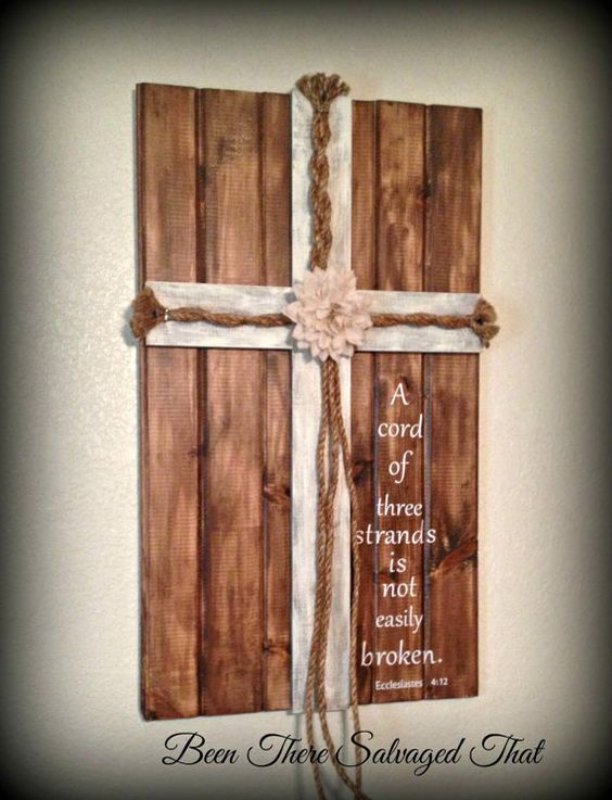 Wedding Cross Unity Cords A Cord Of Three Strands Ecclesiastes 412 3 Feet X 2075 Inches