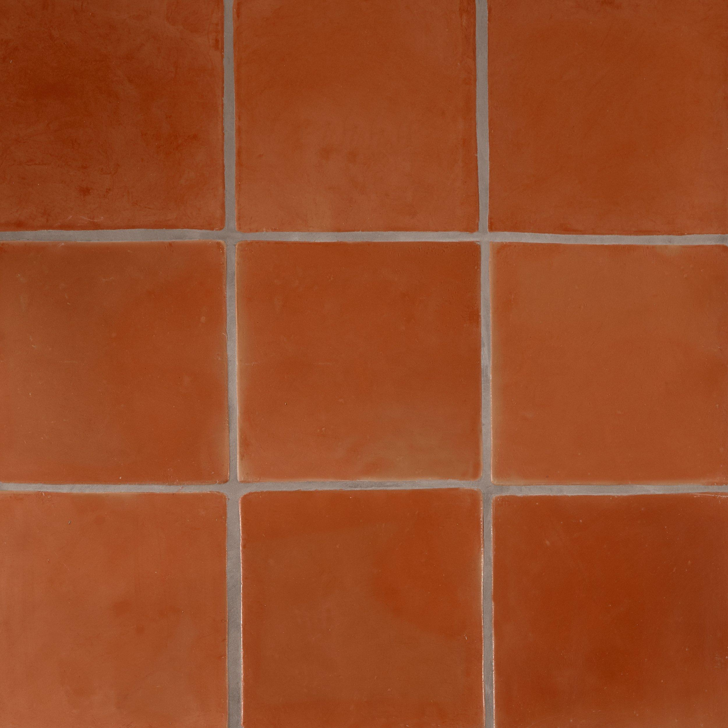 Super Sealed Saltillo Tile In 2020 Saltillo Tile Natural Tile Red Tile Floor