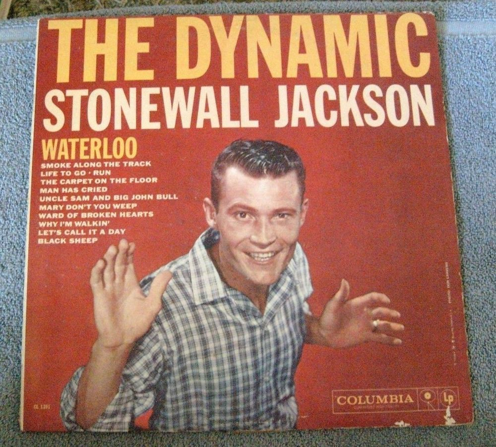 The Dynamic STONEWALL JACKSON LP Album - Vinyl, Columbia Records CL 1391 #HonkyTonk