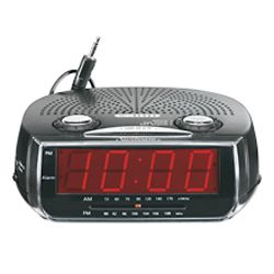 Sunbeam Mp3 Ready Am Fm Alarm Clock Radio This Sleek Clock Radio