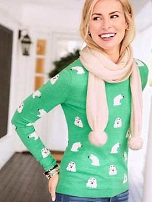 Talbots - Polar Bear Sweater     Discover your new look at Talbots ...