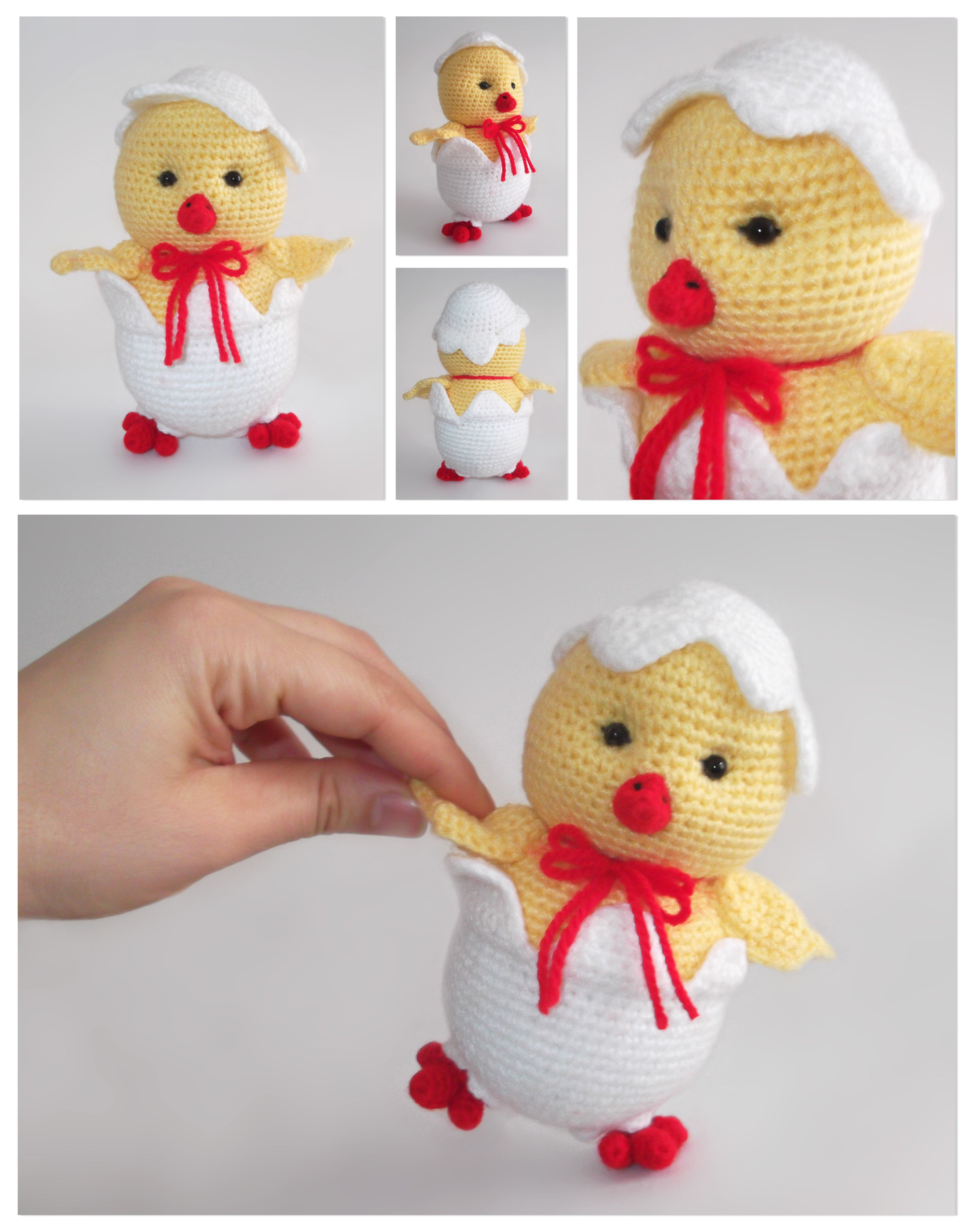 Crochet Baby Chick | ente und huhn | Pinterest | Ganchillo, Patrones ...