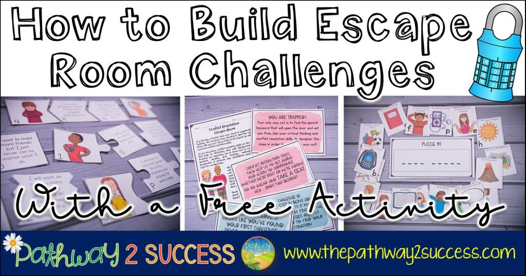 How To Build Your Own Diy Escape Room Challenges For Kids And Young Adults With A Free Activity These Are T Escape Room Challenge Escape Room Escape Room Game