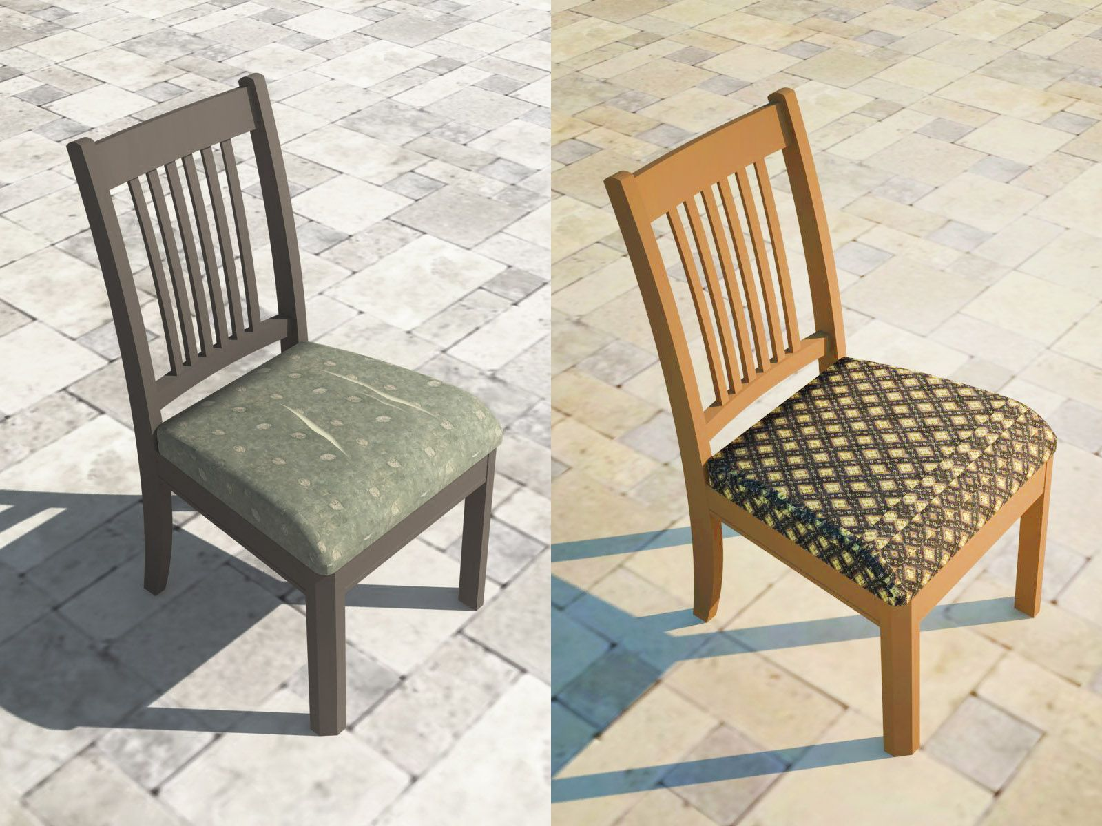 Wikihow To Reupholster A Dining Chair Seat Via