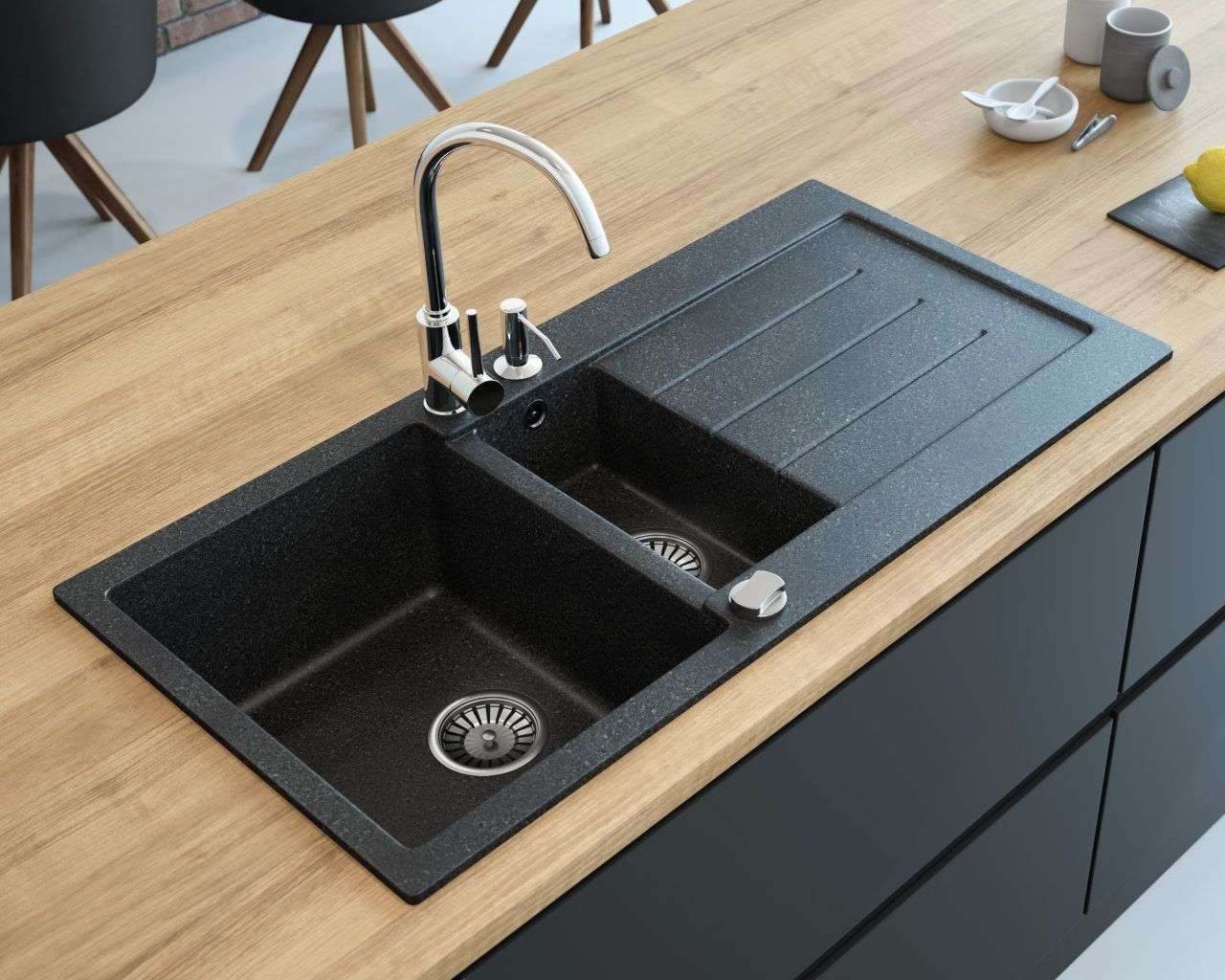 Free Color Samples Lavello Sinks Kitchen Sink Design Black Kitchen Sink Double Bowl Kitchen Sink