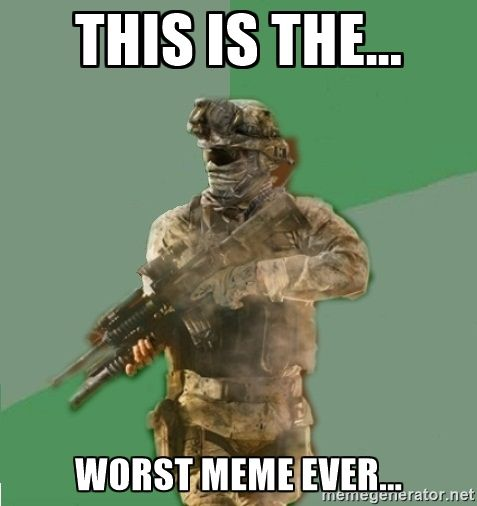 This Is The Worst Meme Ever Philosoraptor Call Of Duty
