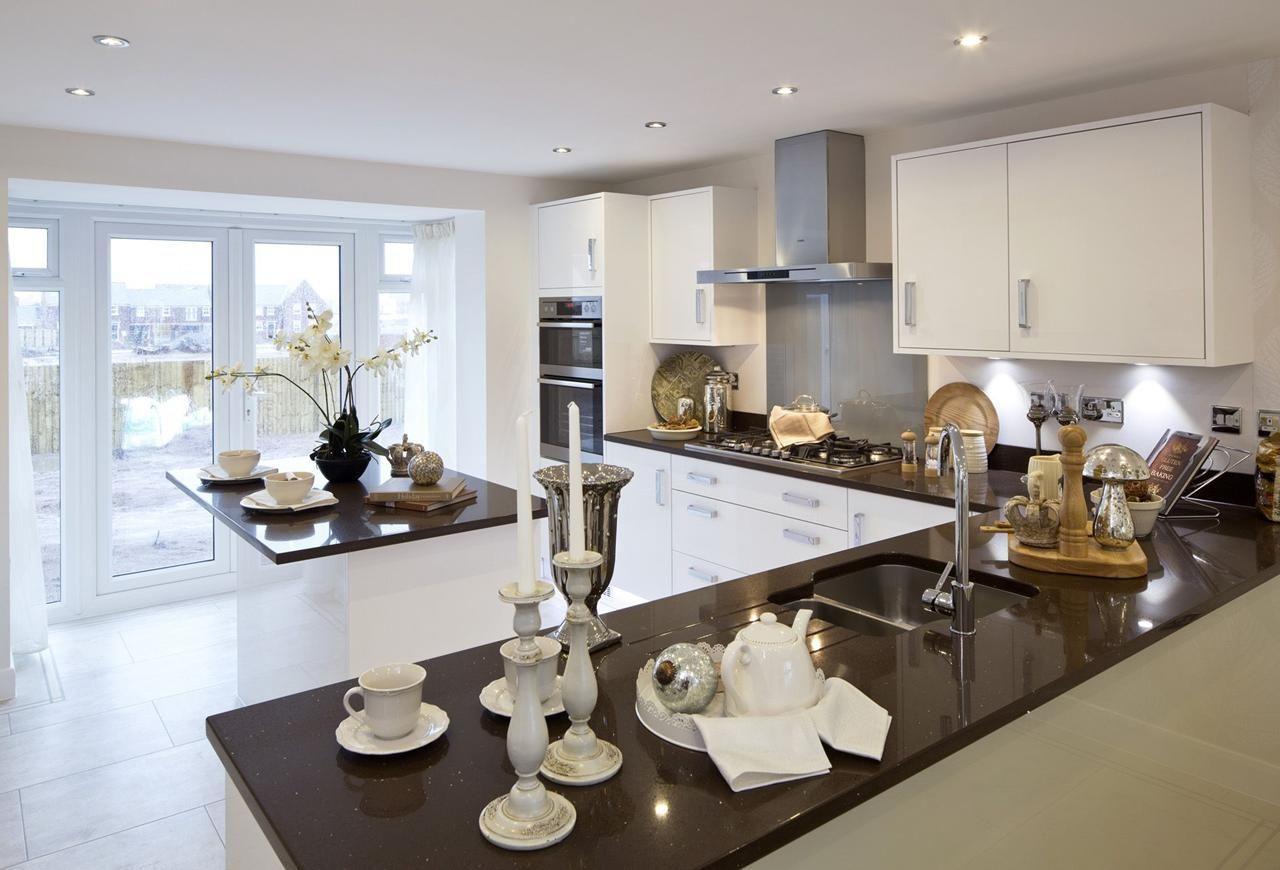 Morecroft Kitchen Home Kitchens Open Plan Kitchen Diner David Wilson Homes