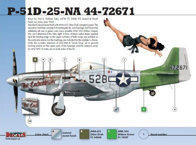 EagleCals Decals 1//48 P-51D MUSTANG Fighter TO WAR WITH THE YOXFORD BOYS Part 2