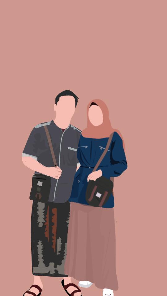 Orang Animasi Kartun Ilustrasi Karakter Lukisan Keluarga Gambar Karakter