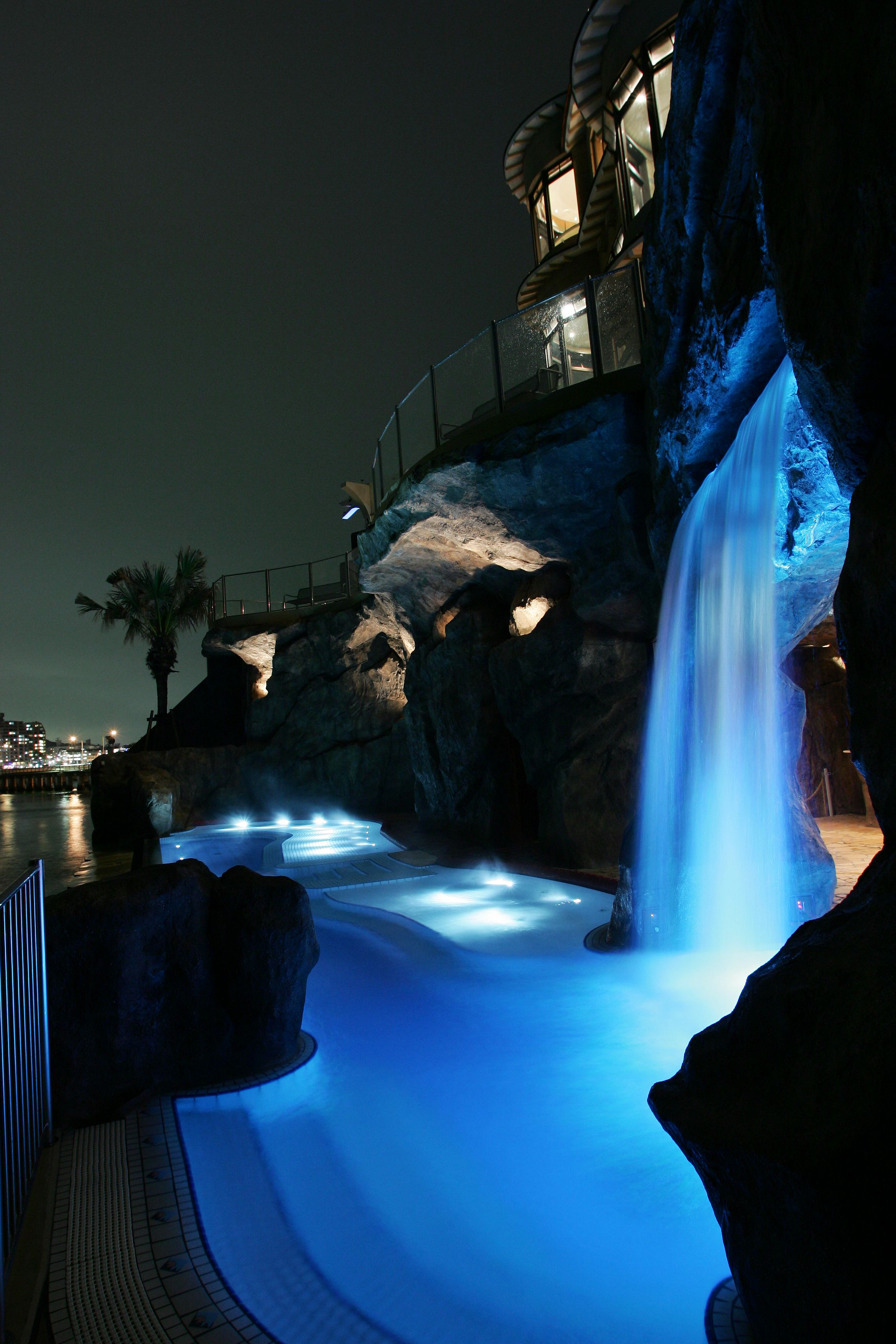 Enoshima Island Spa pool from Enoshima - \