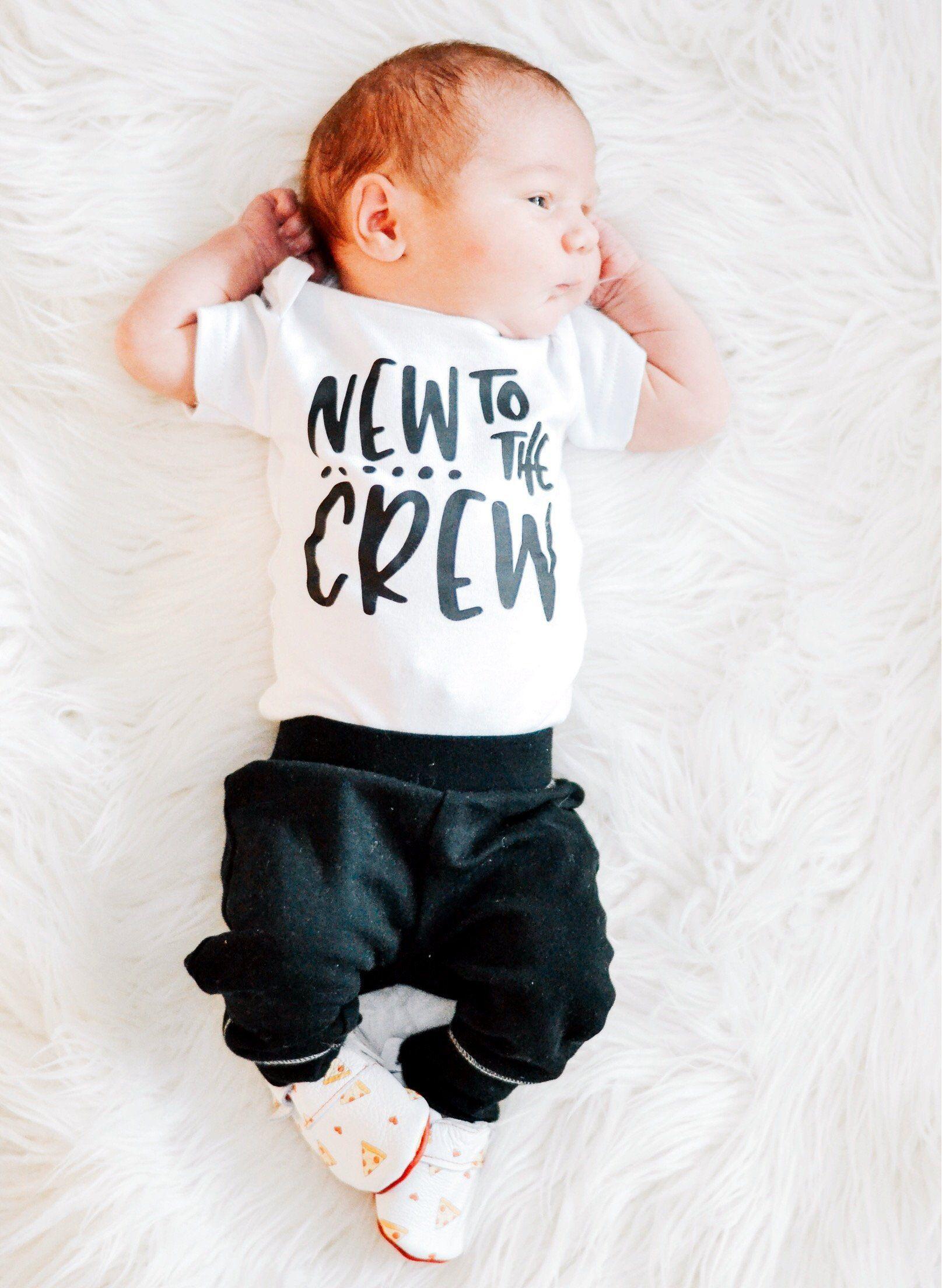 New To The Crew Newborn Bodysuit